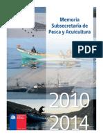 Pesca y Acuicultura. 2010-2014