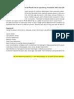 Mashaal Financial Modelling