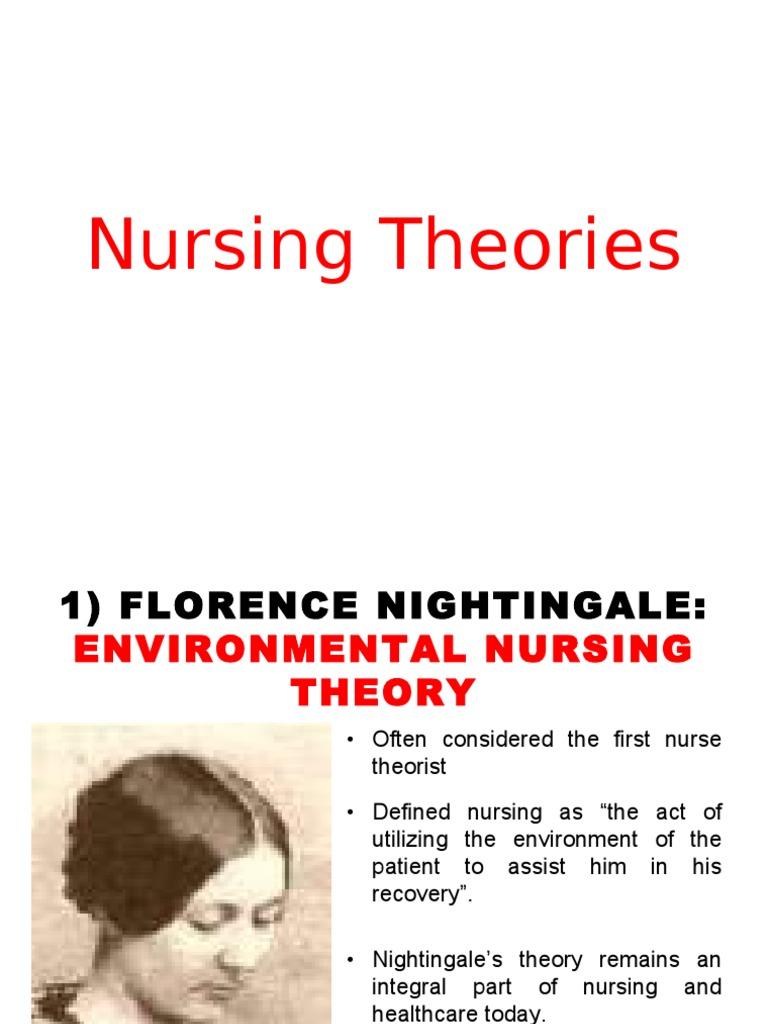 nursing theories florence nightingale essay