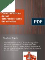 Caracteristicas de los diferentes tipos de valvulas.pptx