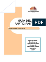 Guia Del Participante Capacitacion Eba 2009