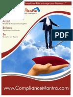 ComplianceMantra Brochure