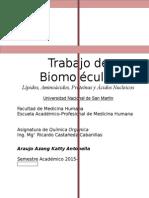 Trab. Biomoleculas (4ta Unidad)
