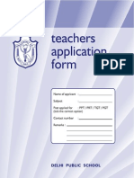 Form teachers