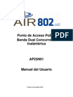 AP25N01 Manual Del Usuario
