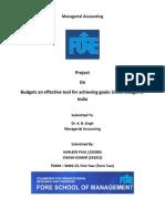 Finance Budget India