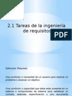 Tareas de La Ingenieria de Requisitos