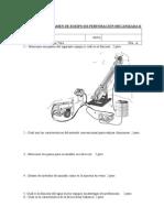 Cuarto Examen de Equipo de Perforación Mecanizada II-2014 IB