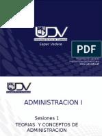 Administracion i Sesiones 1 y 2