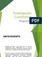 Investigación Cualitativa en La Investigación de Mercados