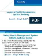 5-Safety Health Training