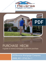 Purchase Reverse Mortgage Guide