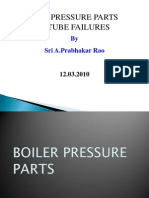 Boiler Pressure Parts & Tube Failure