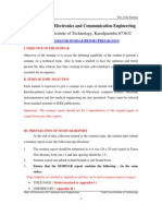 M.Tech Seminar Report Guidelines