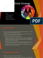 Motorola Global Strategy (Final)