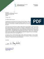 reference letter michael deyholos