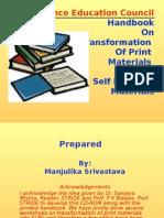 Handbook on Transformation