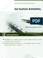 Electronic Syatem Design ppt- Reliability of Digital Systems ppt