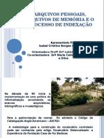 Palestra Memória e Informação