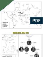 Mapa Nuevo s Xviii
