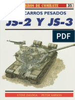 Osprey Carros de Combate 35 JS 2 y JS 3