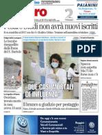 Pesaro Studi vive solo fino al 2017, i nuovi iscritti trasferiti a Urbino - Il Resto del Carlino del 20 marzo 2015