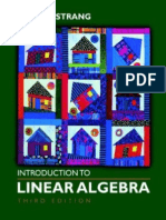 Strang Introduction to Linear Algebra 3rd Edition - Copy