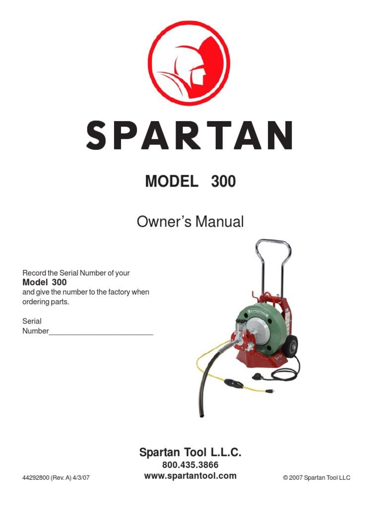300 Manual | Equipment | Machines | Spartan Force Wiring Diagram |  | Scribd