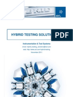 Hybrid Testing Solutions