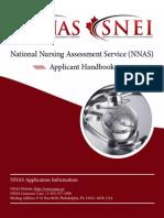 Nnas Applicant Handbook English
