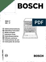 Bosch SMS 47