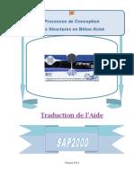 Aide en Francais Sur Sap2000