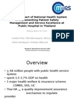 Thai National Health system