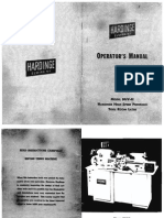 Hardinge HLV H Manual