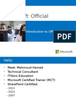 Introduction to Office 365