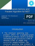 Parallel Algorithm for MST