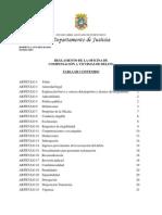 Reglamento de La Oficina de Compensación a Víctimas de Delito