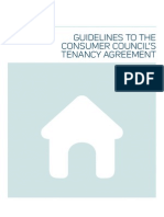 Guideline to the Consumer Tenancy