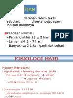 mekanisme haid dan fisiologi haid