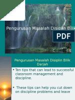 Managing Displinary