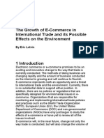 Role of e-commerce in India