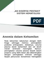 Kehamilan Disertai Penyakit Sistem Hematologi