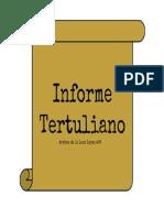 Informe Tertuliano