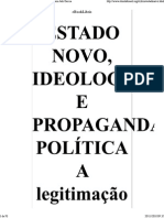Estado Novo, Ideologia e Pr..
