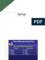 Tugas QBD Syrup