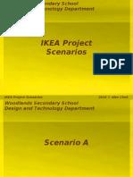 IKEA Project Scenarios