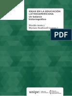 Ideas en La Educación Latinoamericana I