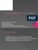 Componentes Das Tabelas 01
