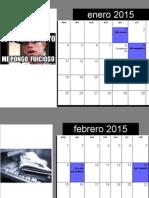 Calendario jose david 9E