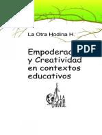 Empoderacion y Creatividad en Contextos Educativos